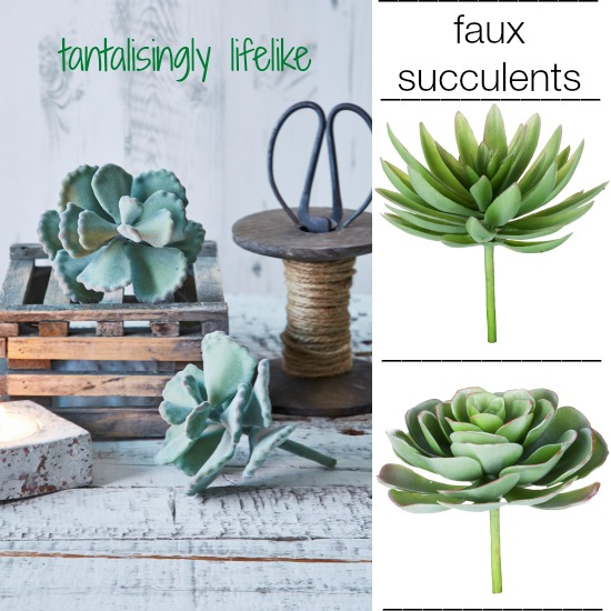 Faux Succulents from Nordic House [4]