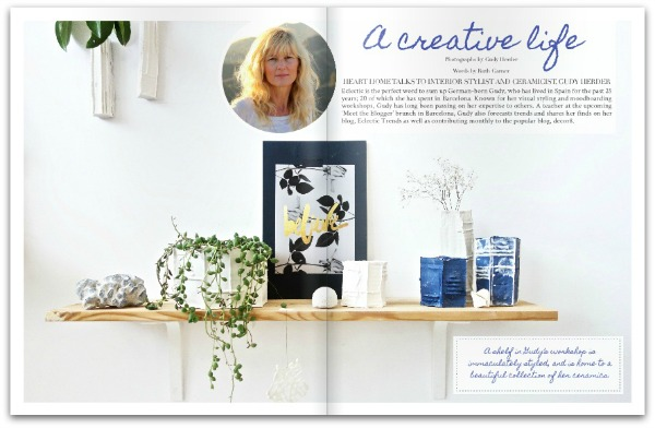 Heart Home magazine - September 2014 - Gudy Herder - A Creative Life
