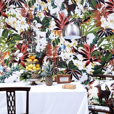 Kristjana S Williams Studio - House Plant Wall Mural