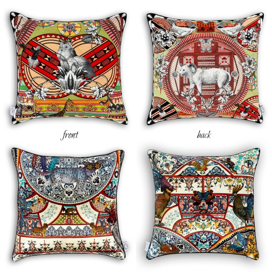 Kristjana S Williams Studio cushions