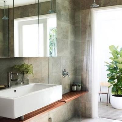 Shower idea via Living etc