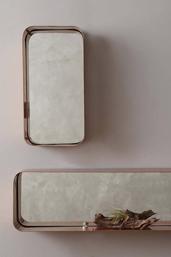 Anthropologie Industrial Mirror Shelf £98 - £148