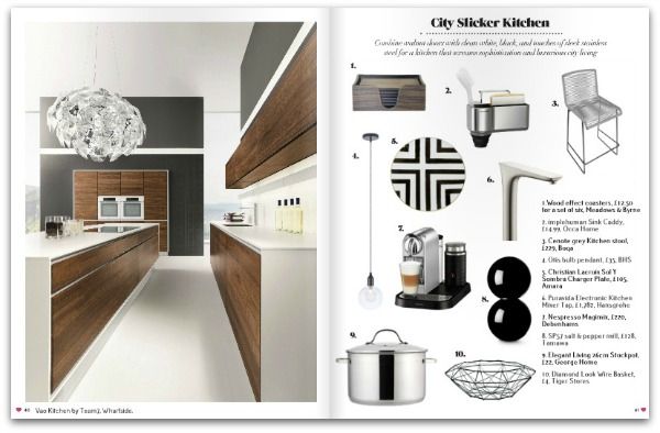 Heart Home magazine - November 2014 - City Slickers Kitchen