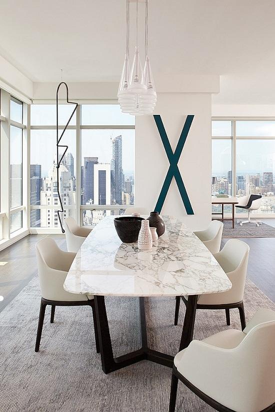 Manhatten Apartment with a view via Home Adore [2]