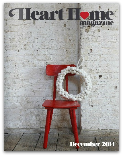 Heart Home magazine December 2014