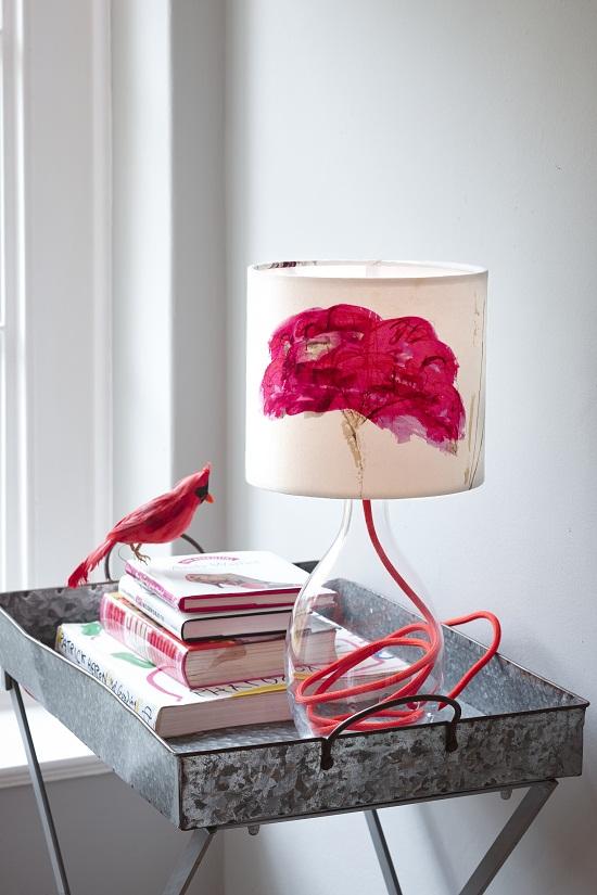 Anna Jacobs Autumn Sedum 20cm lampshade