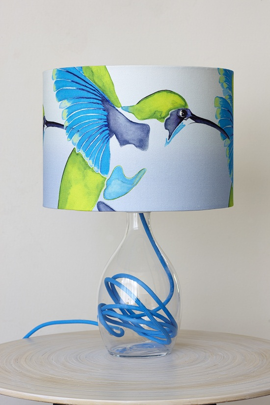 Anna jacobs sipping nectar lampshade