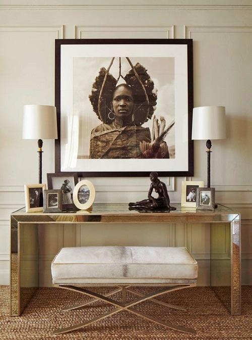 Tribal Art via Traditional Home
