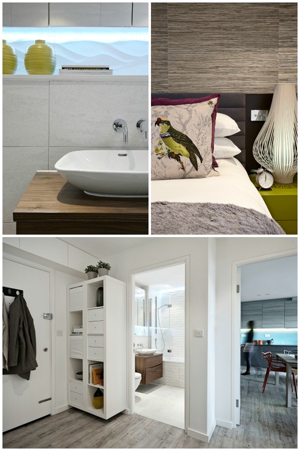 A compact docklands apartment via Boscolo Architects