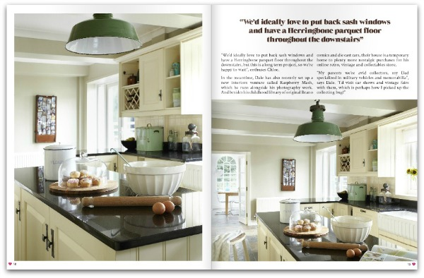 Raspberry and Mash Home feature - Heart Home mag February 2015