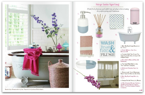 Spring shopping - Heart Home mag February 2015