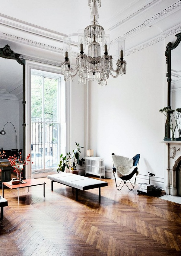 Stunning Wooden Floor Via Houzz