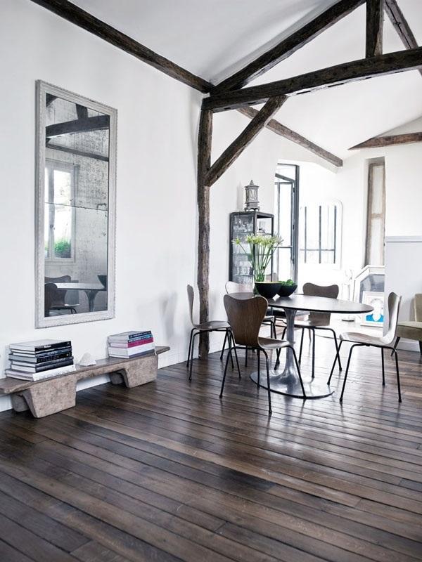 Stunning Wooden Floor Via designer Martin Grant