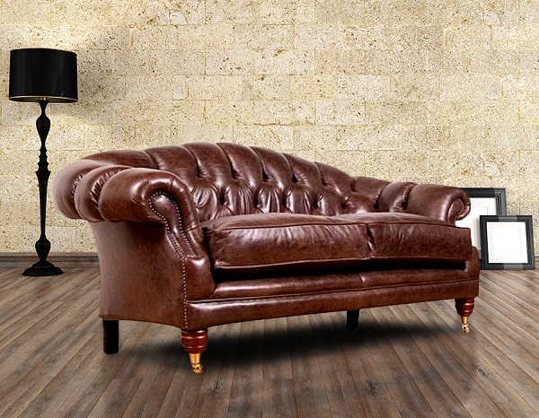 Chesterfield Bradwell Leather Furniture, Chesterfield Suites HI