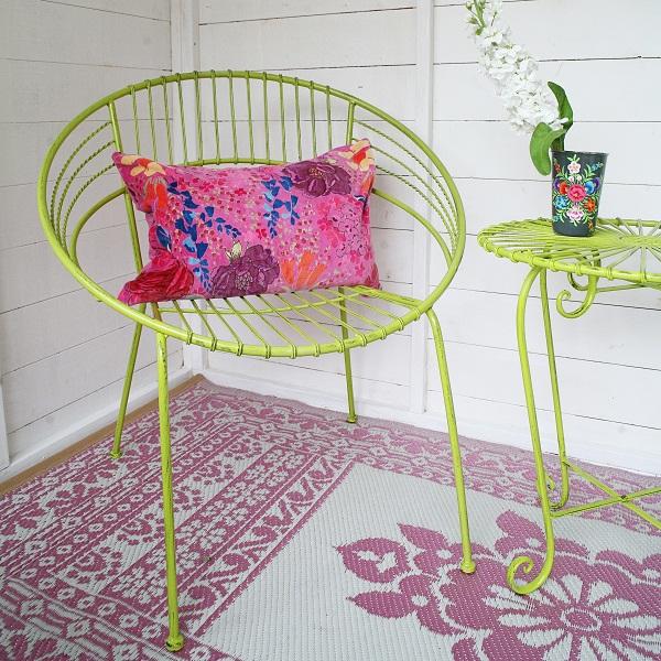 Retro Garden Chairs, £45, Rigby & Mac
