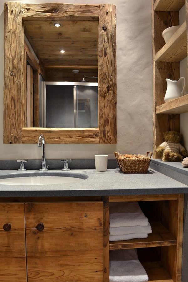 Rustic style bathroom by Andrea Rossini Architetto via Homify