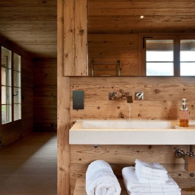 Rustic style bathroom by Ardesia Design via Homify