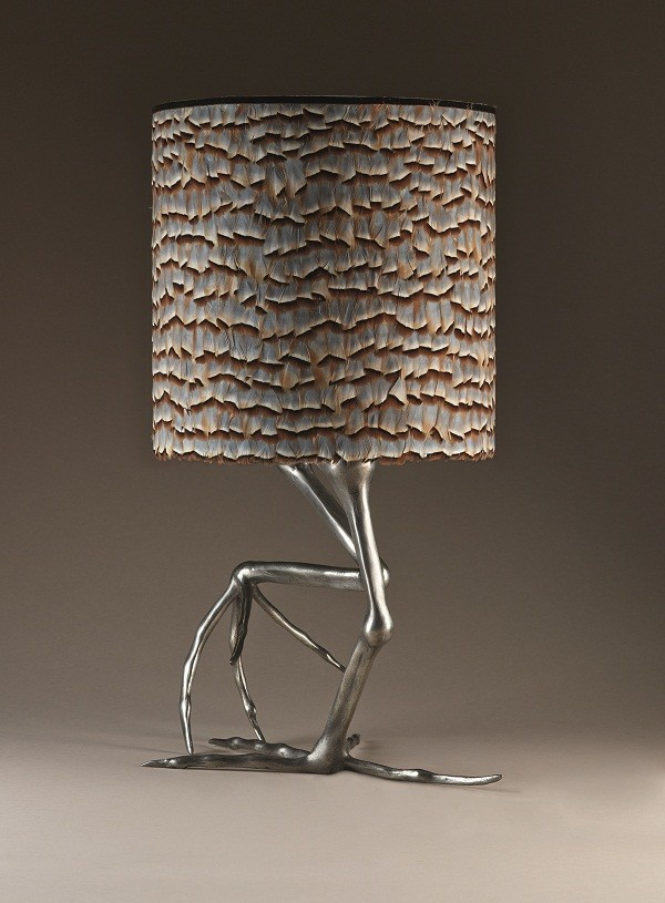 Temple_&_Ivy_Shella-African_Jacana_lamp_£1800_with_partridge_feather_shade_£384