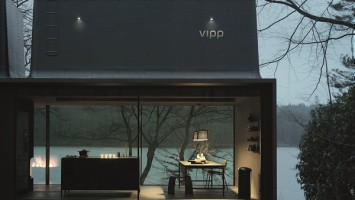 The Vipp Shelter - A battery-charging station for humans'  (8)