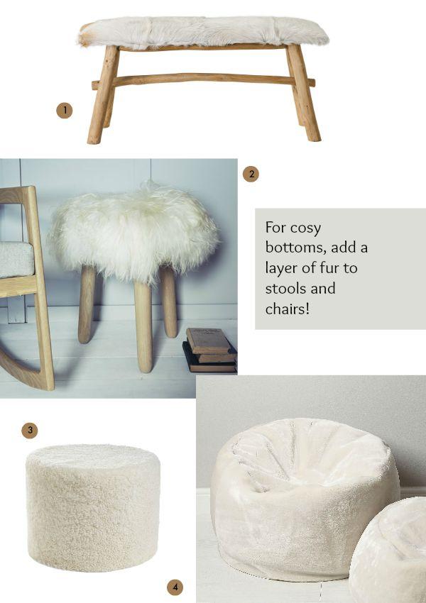 Cosy bottoms via Dear Designer's Blog