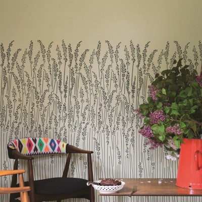 Farrow and Ball Feather Grass Wallpaper
