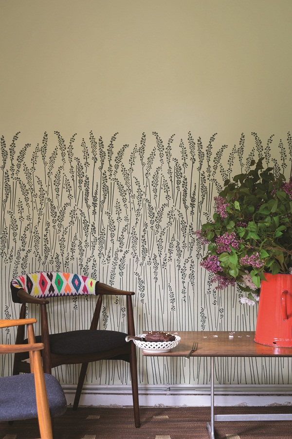 Farrow and Ball Feather Grass Wallpaper