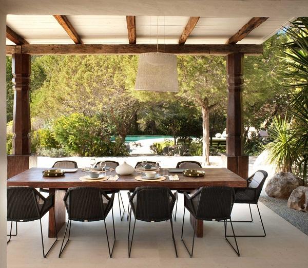 TG Studio, Ibiza House - dining terrace