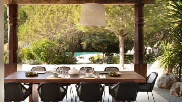 TG Studio, Ibiza House - dining terrace