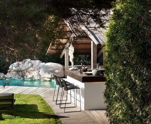 TG Studio, Ibiza House - pool bar