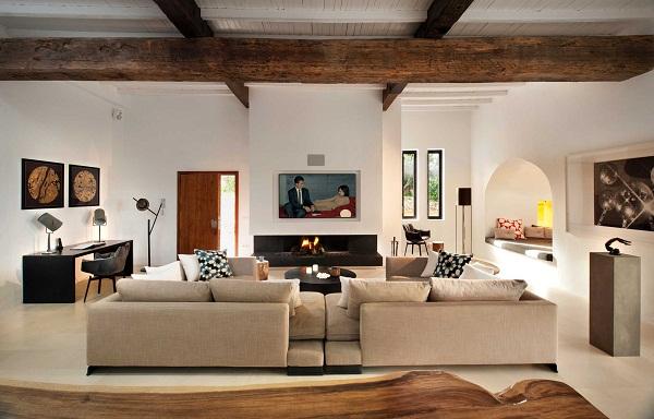 TG Studio, Ibiza House - sitting room