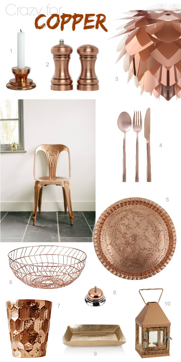 Still Crazy for Copper via Dear Designer's Blog