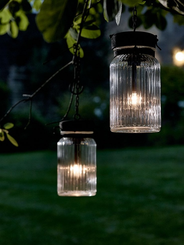 jar lanterns from cox and cox