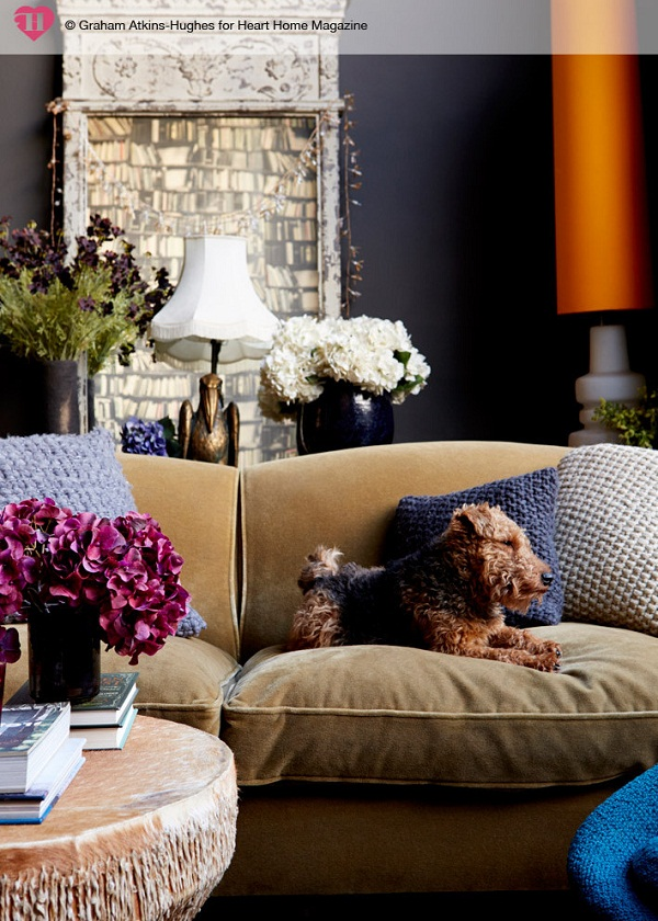 Abigail Ahern's House for Heart Home mag. Photographed by Graham Atkins-Hughes (4)