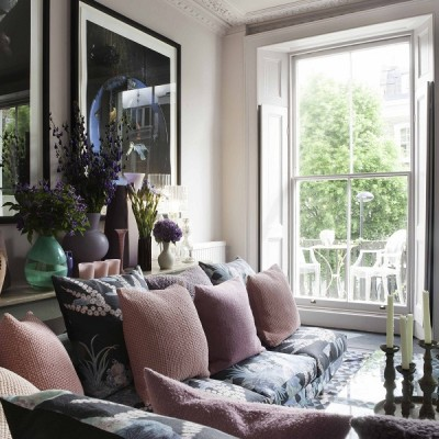 The London Home of Florist Nikki Tibbles currently for sale via Domus Nova  (10)