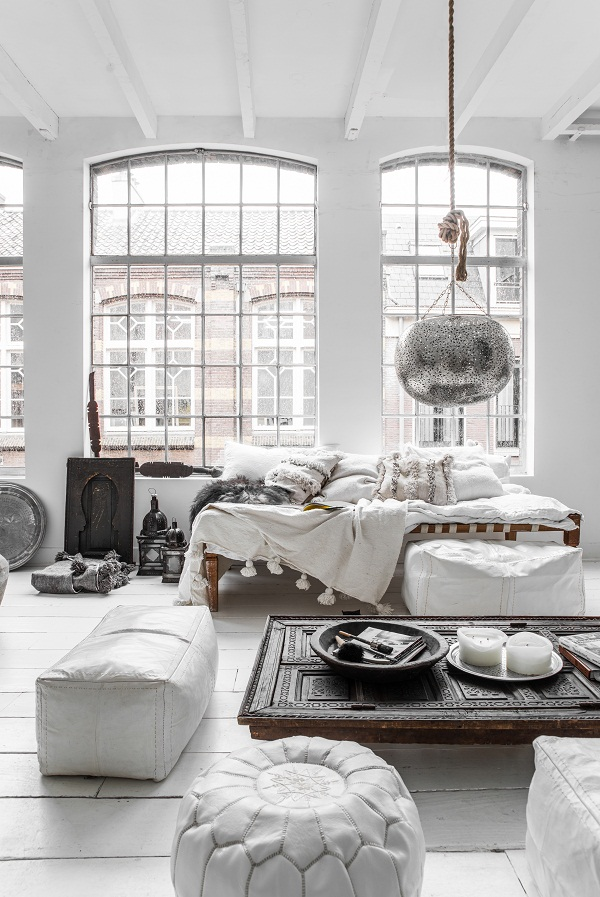 Cool Scandinavian Chic Meets Warm Ethnic Vibes