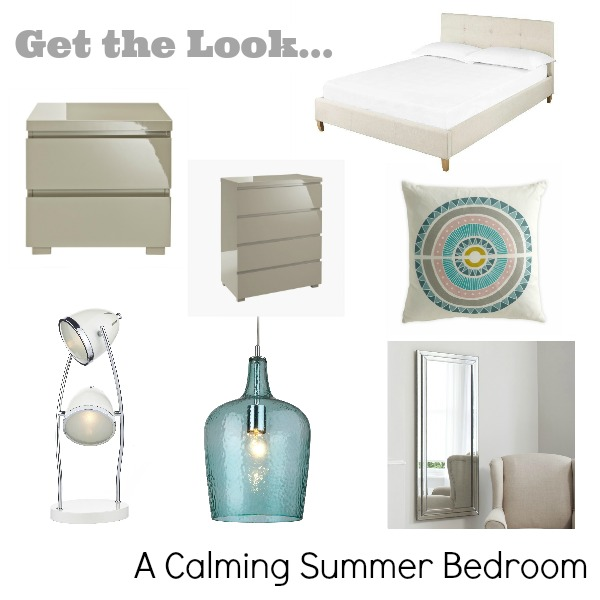 Get Fully Furnished - Get the Look - A Calming Summer Bedroom