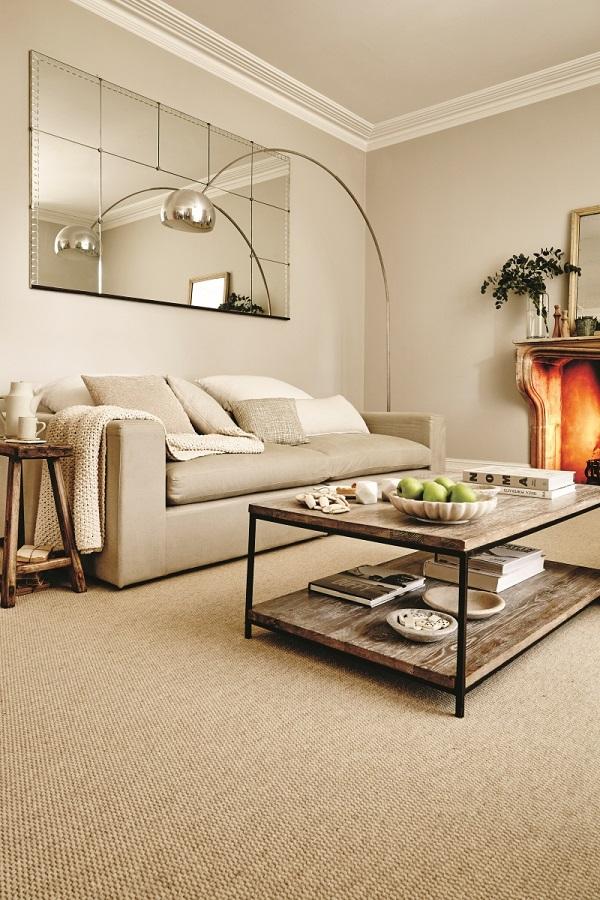 Carpetright Leeds textured loop carpet - adds interest to a neutral scheme