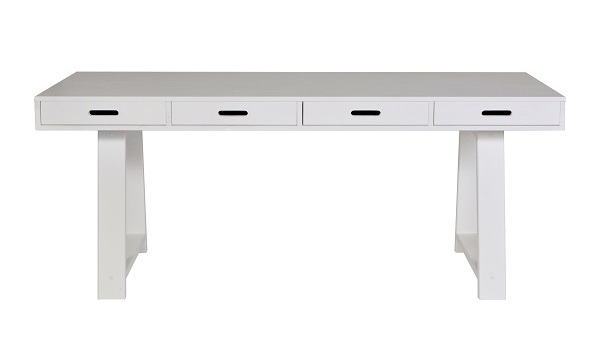 Contemporary-4-Drawer-Desk-Cutout-Cuckooland
