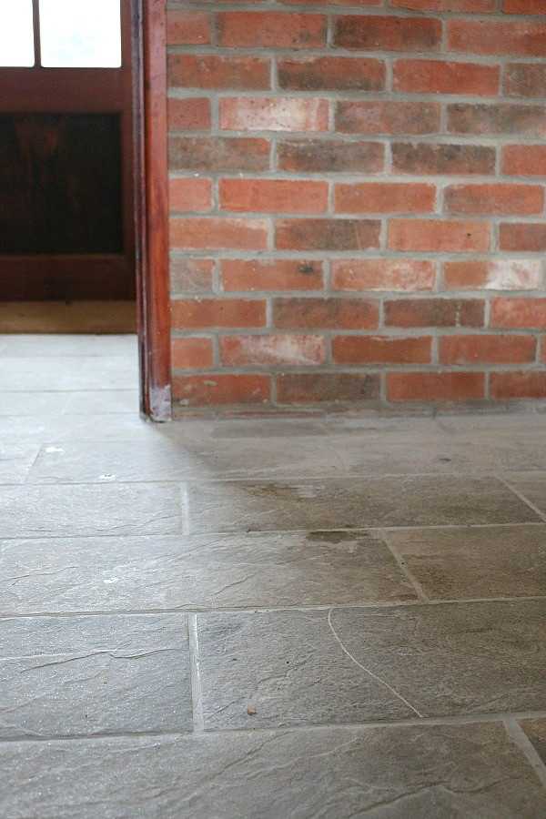 Our new country cottage renovation update dear designer for Country cottage floor tiles