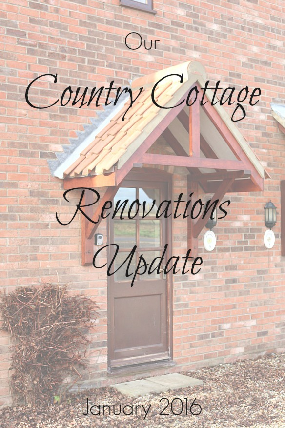 Our Country Cottage Renovations Update - Dear Designer's Blog