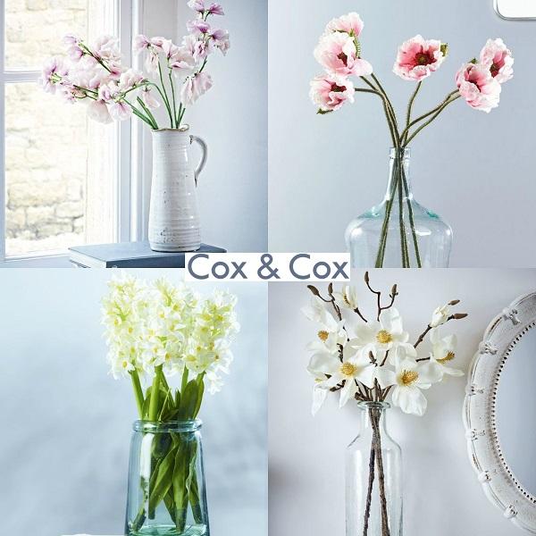 Cox & Cox Faux Flowers