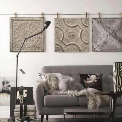 Koziel Tin Tiles Wallcoverings  (6)