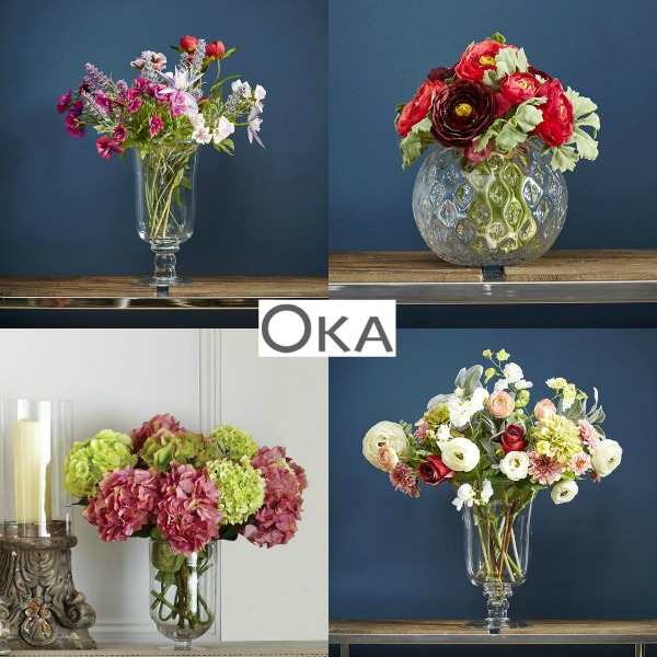 Oka Faux Flowers