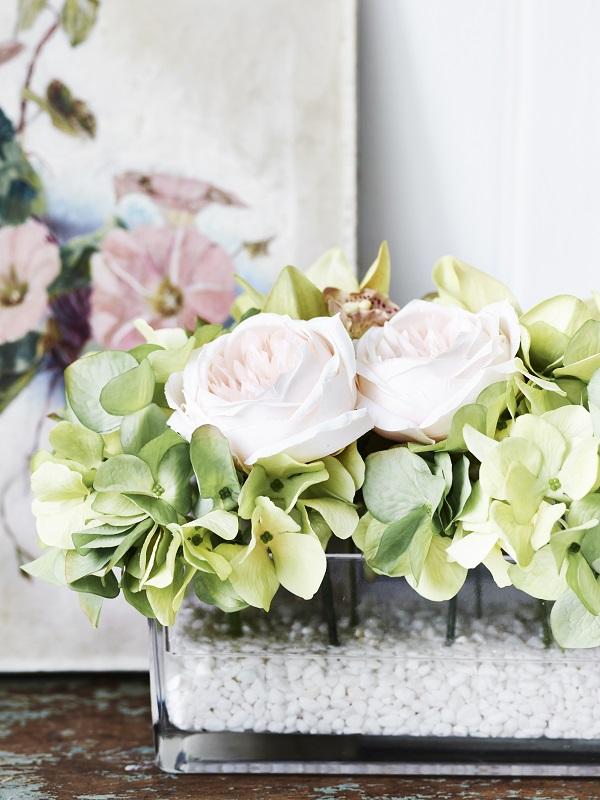 Jane Packer Hydrangea, Rose & Orchid by Sainsbury's, -ú32