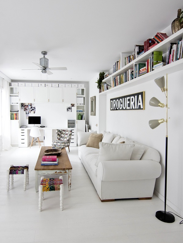 Barcelona Apartment by Espacio En Blanco design studio. Photographs by Nina Antoni (1)