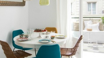 Barcelona Apartment by Espacio En Blanco design studio. Photographs by Nina Antoni (5)