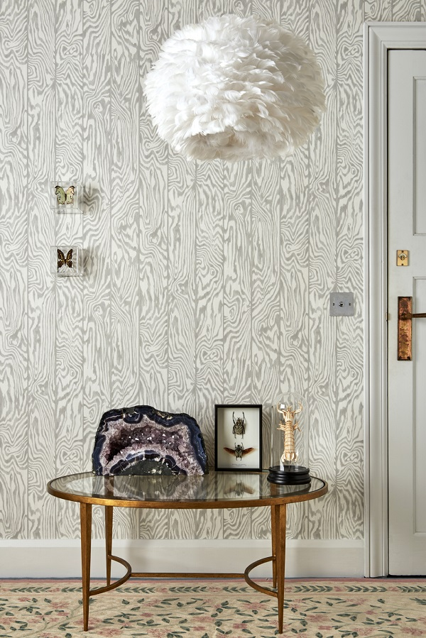 Cole & Son Curio Zebrawood wallpaper
