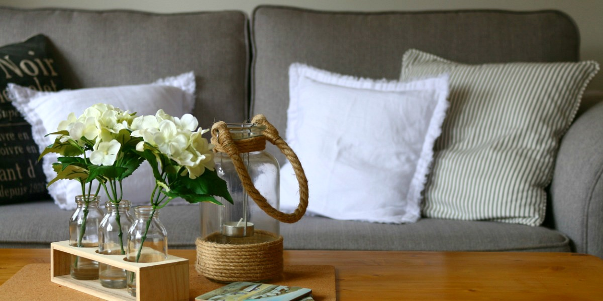 Our Country Cottage - The Living, Dining Room via Dear Designer's Blog (1)