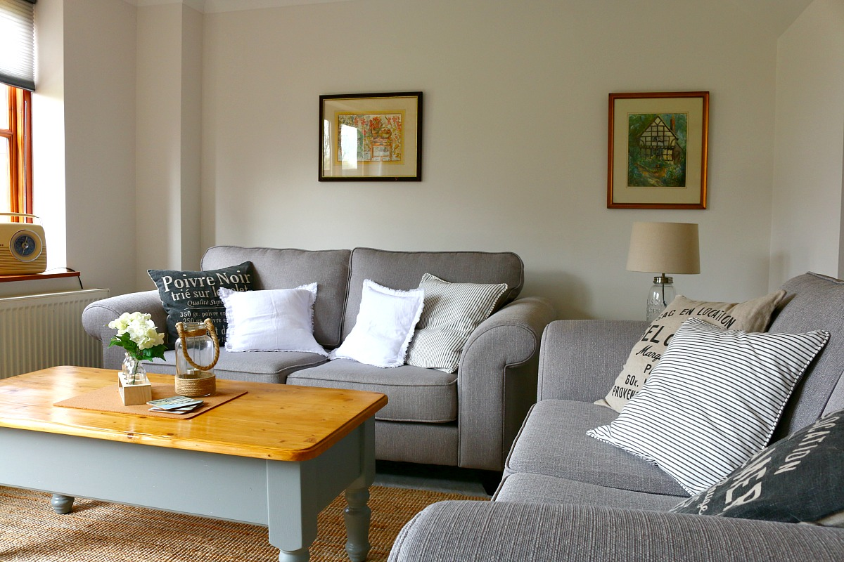 Our Country Cottage - The Living, Dining Room via Dear Designer's Blog (2)