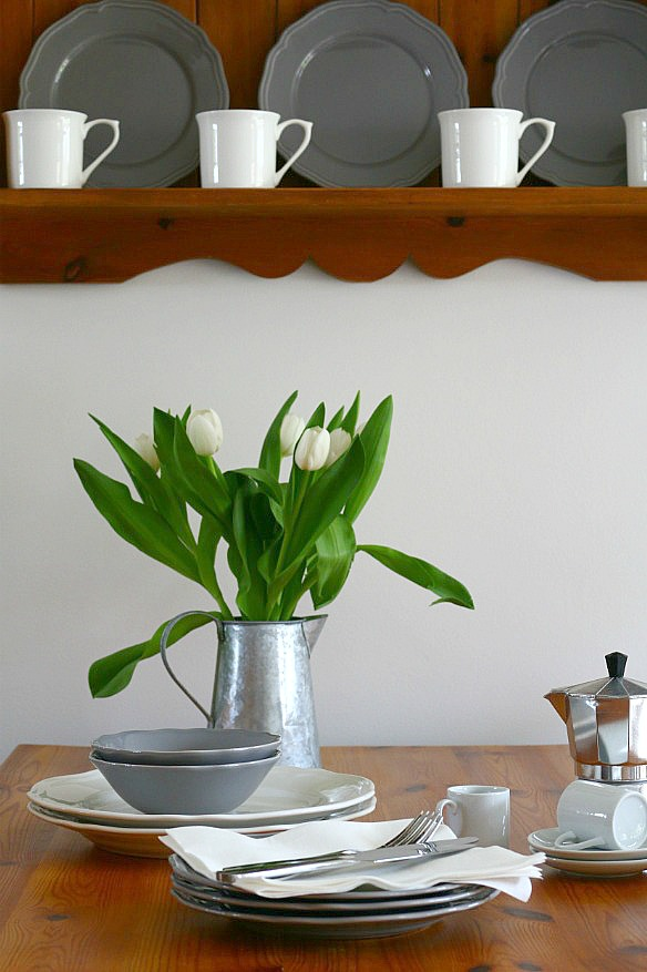 Our Country Cottage - The Living, Dining Room via Dear Designer's Blog (6)
